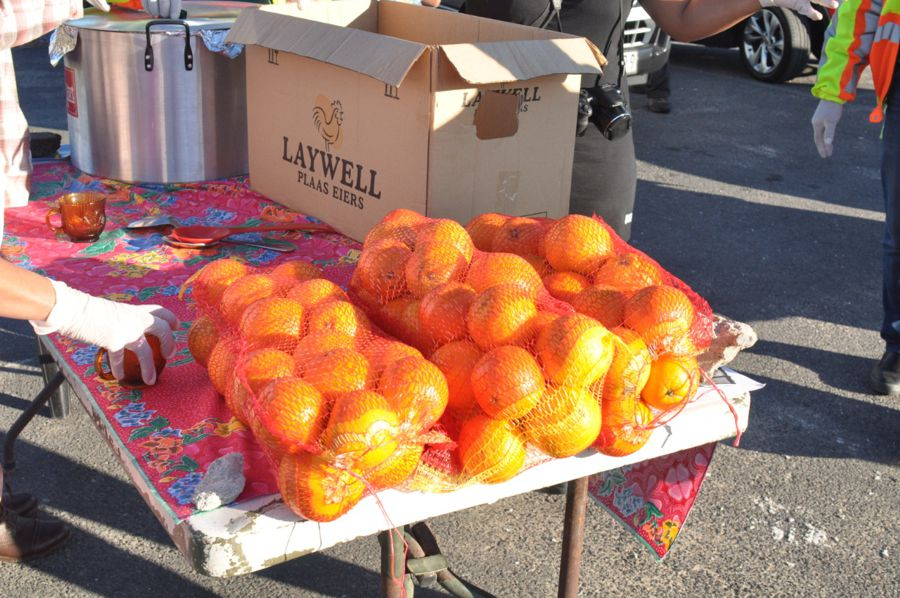 SOUP AND ORANGES IN BELLVILLE SOUTH