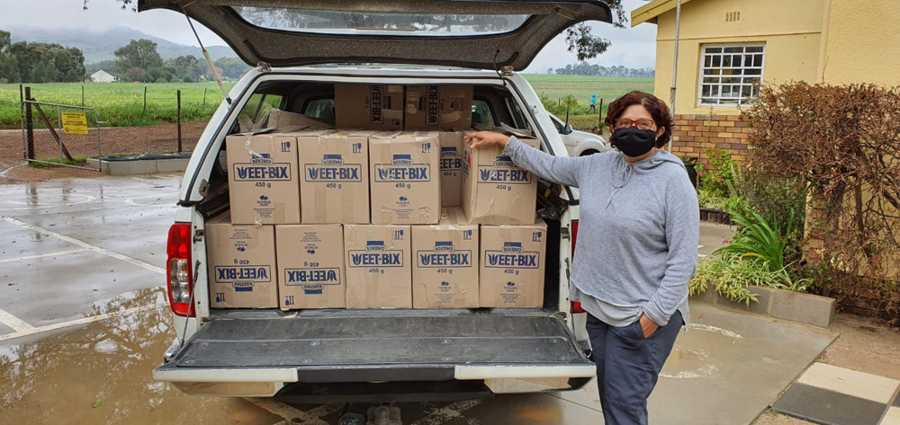 WEETBIX DONATIONS GIVEN